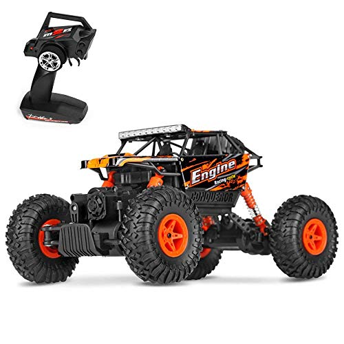 Theefun 1:18 2.4Ghz RC Rock Crawler Remote Control Car 4WD Off Road RC Monster Truck