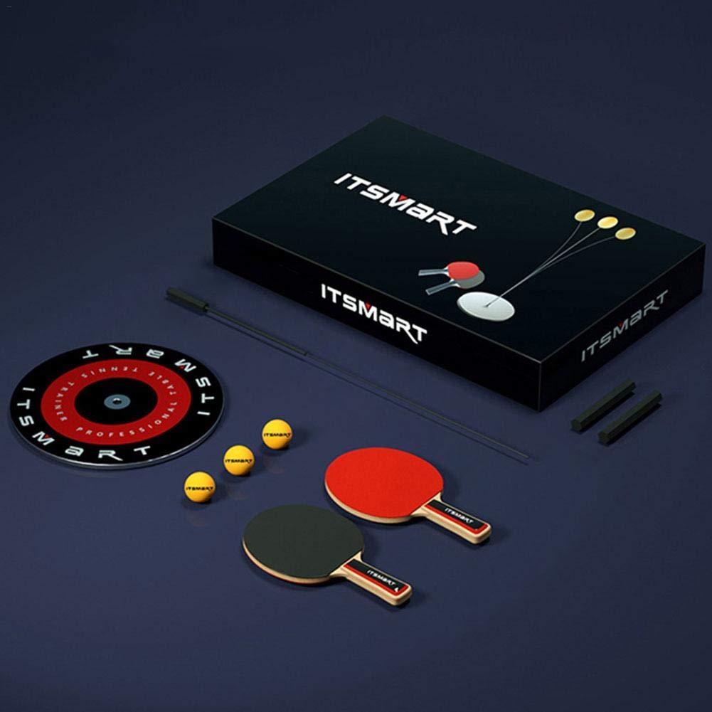 Dinapy Tischtennis-Trainer Leisure Decompression Sports Tischtennis mit Elastischem Weichem Schaft Dekompression Augentraining Ball Freizeit Dekompression Sport Indoor Outdoor Spielen
