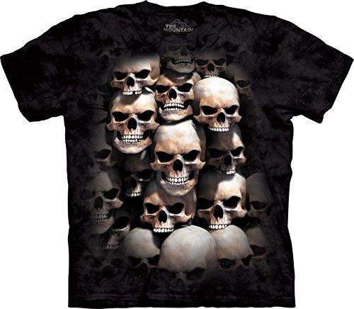 - The Mountain Skull Crypt T-Shirt, XX-Large, Black