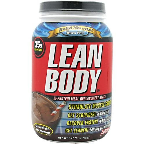 Labrada Nutrition Lean Body Hi-Protein Meal Replacement Shake, Chocolate Ice Cream, 2.47 Pound Tub ( Multi-Pack) by Labrada by Labrada