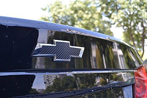 Bwen 2 PCS Black Carbon Fiber Emblem Sticker For Chevrolet Cruze 2009-2014 by Bwen (Image #2)