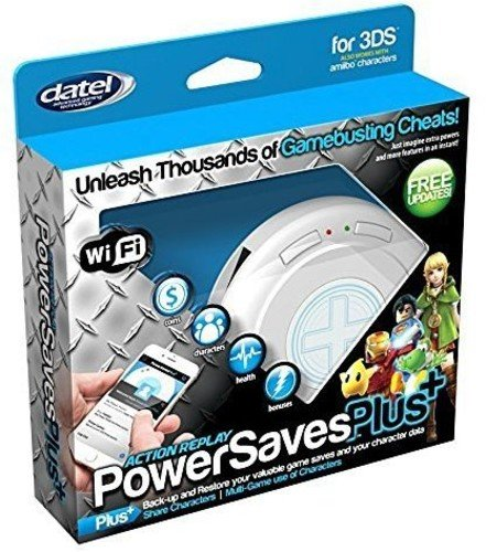 Cheat Action Codes Replay (Datel DUS0397 Action Replay PowerSavesPlus+ for Nintendo 3DS (Wi-Fi))