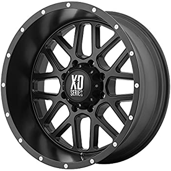 Amazon Com Xd Series By Kmc Wheels Xd820 Grenade Satin Black Wheel