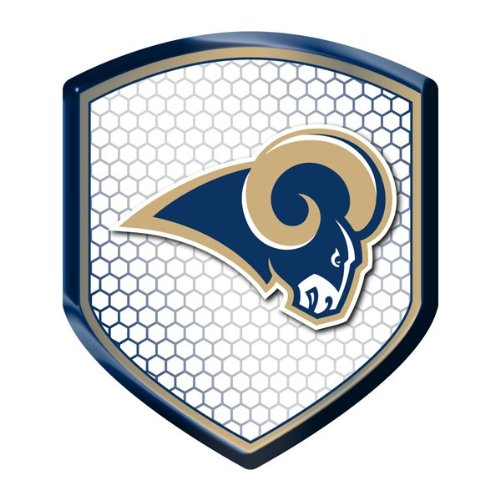 Team ProMark NFL Los Angeles Rams Reflector Decal