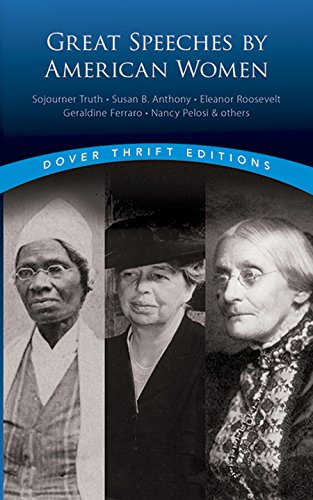 Great Speeches by American Women (Dover Thrift Editions)
