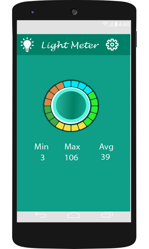 Lux Light Meter App