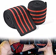 HSTD Sports Elbow Pads for Cross Training, Gym Workouts, Weightlifting, Fitness and Weightlifting-Squat Knee P