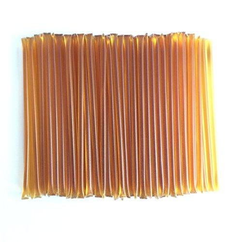 100 Count Honey Sticks (Clover Blossom) Plain Honey Stix Clover Honey - Honey Jar Favors Wedding