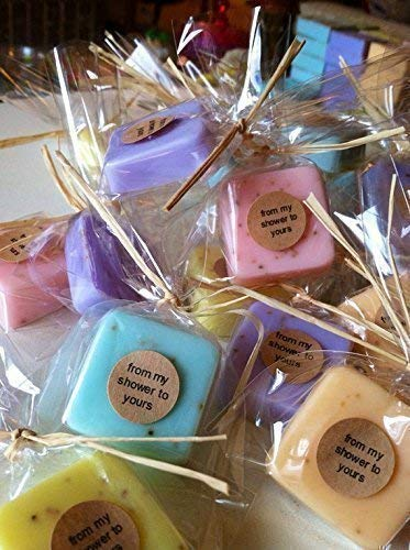Wedding Favors: 15 Mini Soap Favors for Wedding Favors, Bridal Shower Favors, or Baby Shower Favors -