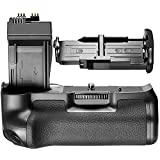 Neewer BG-E8 Replacement Battery Grip for Canon EOS 550D/600D/650D/700D Rebel T2i/T3i/T4i/T5i SLR Camera,Works with 1 or 2 Pieces LP-E8 or 6 Pieces AA Batteries.