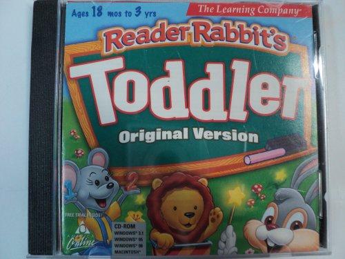 Reader Rabbit's Toddler Original Version (Ages 18 Months to 3 Years) -