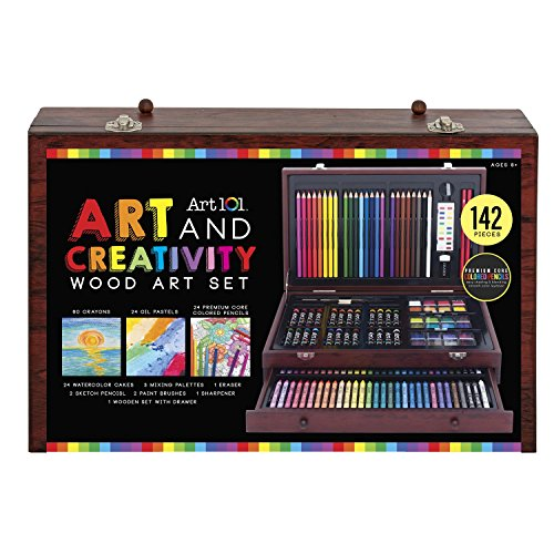 Large Product Image of Art 101 142-Piece Wood Art Set