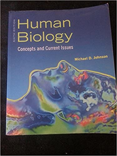 Human Biology: Concepts and Current Issues Package