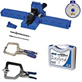 Kreg K5 Super Kit, K5 Jig, SK03 Screw Kit, KHC-1410 Automax Clamp, KHRC Right Angle Clamp,SSW Screw Selector
