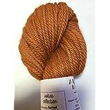 Artisan Yarns Hand Dyed Baby Alpaca Yarn, Solid Caramel, Heavy Worsted Weight, 100 Grams, 102 Yards, 100% Baby Alpaca