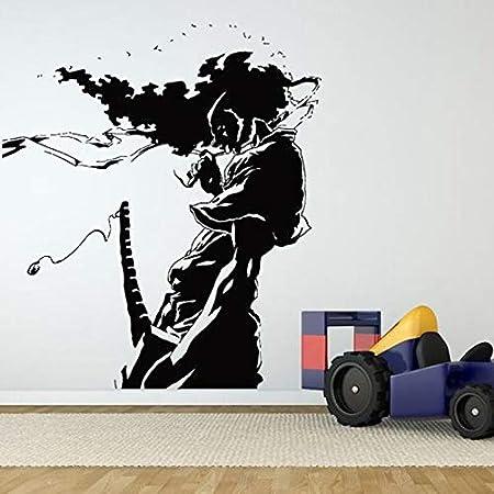 yiyitop Kendo Sticker Samurai Decal Japan Ninja Poster ...