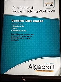 Algebra 1 practice and problem solving workbook pearson algebra 1 practice and problem solving workbook fandeluxe Images