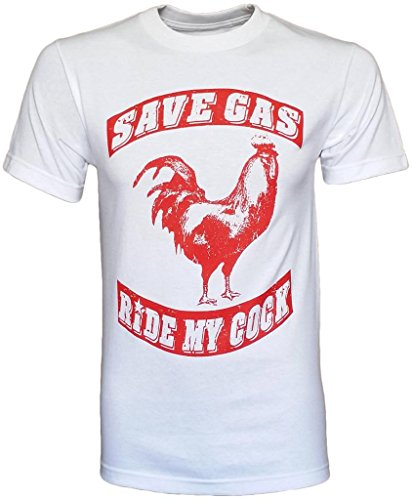 Save Gas Ride My Cock Men's T-Shirt