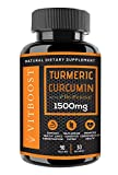 VitBoost Turmeric Curcumin with BioPerine 1500 mg. All Natural, Non-GMO, Gluten Free & Vegan with The Highest Potency for Extra Strength for Pain Relief, Joint Support, Inflammation. Review