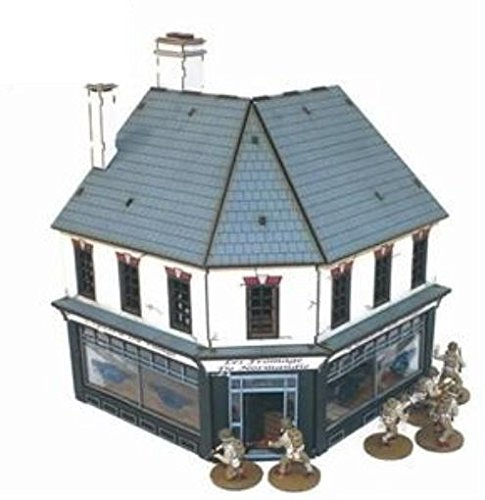 Age of Blackpowder - Buildings 15mm Shop #2 - Corner Grocers (Pre-Painted)