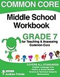 Common Core Middle School Workbook Grade 7 (Middle School Common Core Workbooks) (Volume 2)