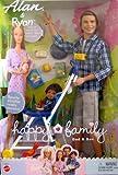 Barbie - Happy Family - Alan & Ryan Dolls - Dad & Son w/Stroller (2002)