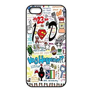 iPhone 5S Protective Case - One Direction Hardshell Carrying Case Cover for iPhone 5 / 5S by runtopwell