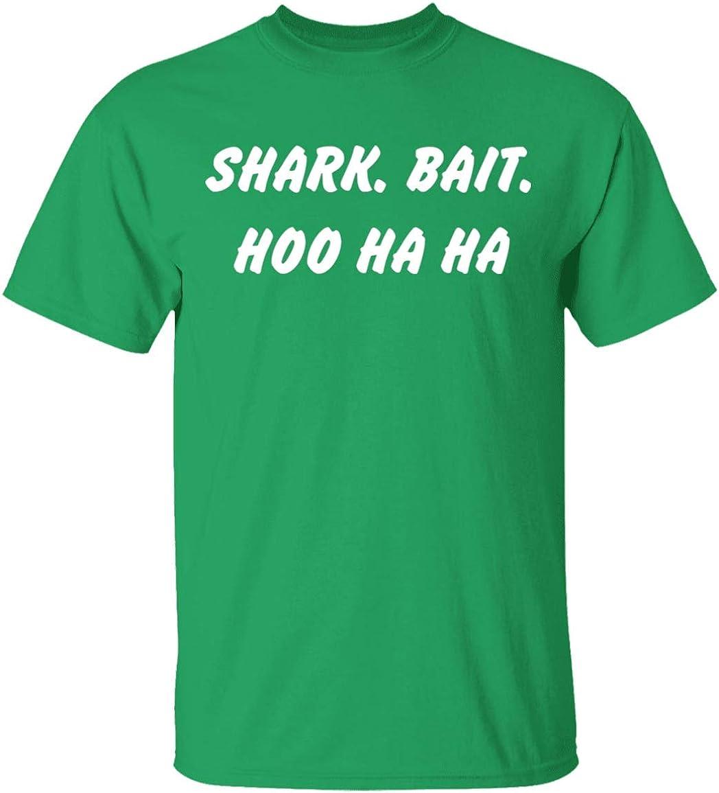 Cool Shark Bait Hoo Ha Ha Funny Finding Nemo Inspired Custom Comedy Handmade T-Shirt Retro Sitcom Finding Nemo T-Shirt