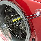 """The Laundry Lasso is the only universal and fully adjustable way to keep your front load washing machine door open and securely out of the way. The """"Bungee Effect"""" allows the door to return to its preset position in the event it does get push..."""