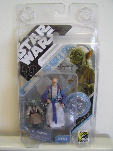 Star Wars 30th Anniversary Exclusive McQuarrie Concept YODA & OBI WAN KENOBI from 2007 San Diego Comic (30th Anniversary Obi Wan)
