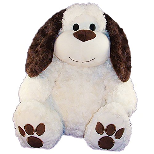 Stuffems Toy Shop Record Your Own Plush 16 inch Long-Eared Dog - Ready to Love in A Few Easy Steps