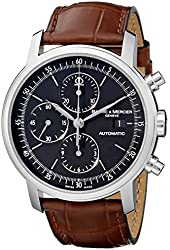 Baume & Mercier Men's MOA08589 Classima Executive Swiss Automatic Watch With Brown Leather Band