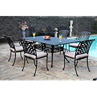 Pleasant Sale Cbm Outdoor Cast Aluminum Patio Furniture 7 Pc Dining Home Interior And Landscaping Synyenasavecom