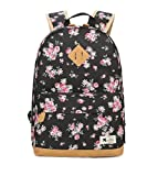 Tusong Flower Printed Canvas Bookbags School Backpacks - Best Reviews Guide