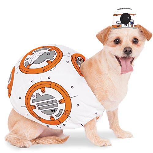 [Rubies Costume 580417_XS Star Wars VII: The Force Awakens BB-8 Pet Costume, X-Small] (Bb 8 Dog Costume)