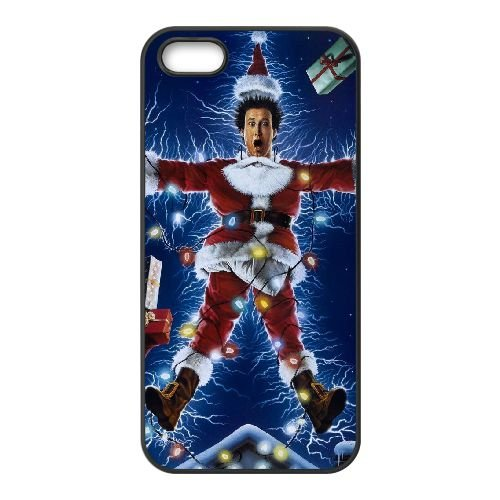 Griswold Family Christmas 002 coque iPhone 4 4S cellulaire cas coque de téléphone cas téléphone cellulaire noir couvercle EEEXLKNBC25515