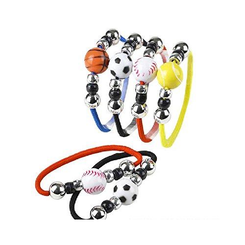 6'' Stretch Sports Ball Bracelet by Bargain World