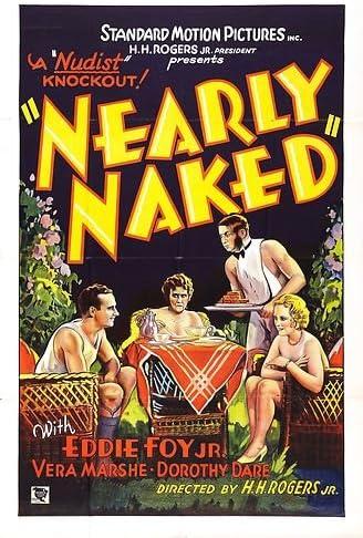 "Exploitation Film Nearly Naked Movie Poster Replica 13x19/"" Photo Print"