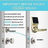 COLOSUS NDL319 Keyless Electronic Digital Smart