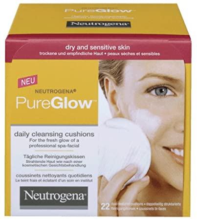 Remarkable pure glow facial cleansing cushions for