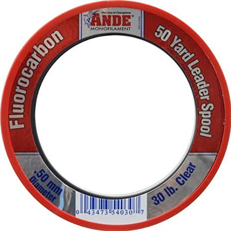 Asso Big Catch 100/% Fluorocarbon in 50yd spools