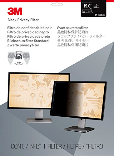 """051128744802 - 3M Privacy Filter for 19"""" Standard Monitor (5:4) (PF190C4B) carousel main 0"""