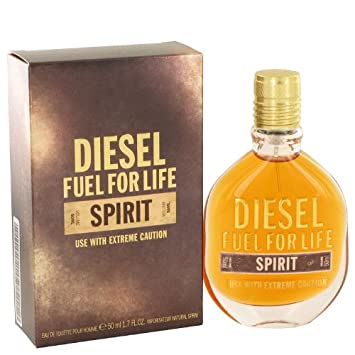 Amazon.com : Fuel For Life Spirit By Diesel Eau De Toilette Spray 1.7 Oz For Men : Beauty