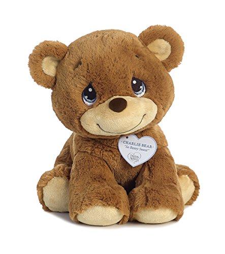 "Aurora World Precious Moments Charlie Bear, So Beary Sweet, Brown, 12"""