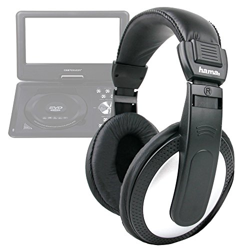 DURAGADGET Lightweight, Supreme Comfort, Stereo Over-Ear Headphones with 6M Cable for DBPower 9.5