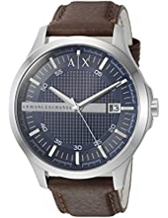 Armani Exchange Mens AX2133 Brown  Leather Watch