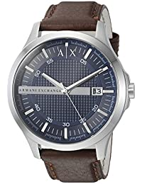 Armani Exchange AX2133 Watch, Men, Brown Leather