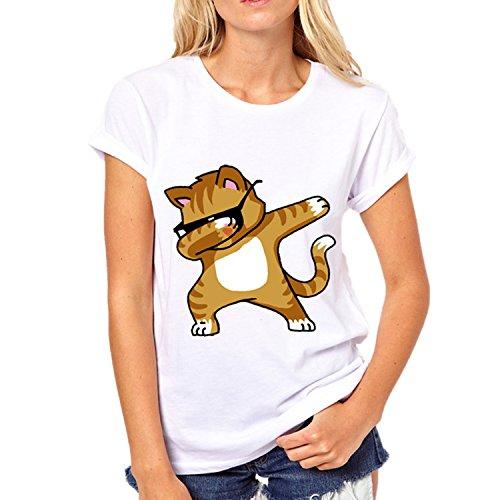 Shirt per Shirt Donna Unicorn Tops Donna T T Estiva Shirt Carina QQI Rainbow Sport Tops Ragazza Colore15 per Estiva T qzOPBnB