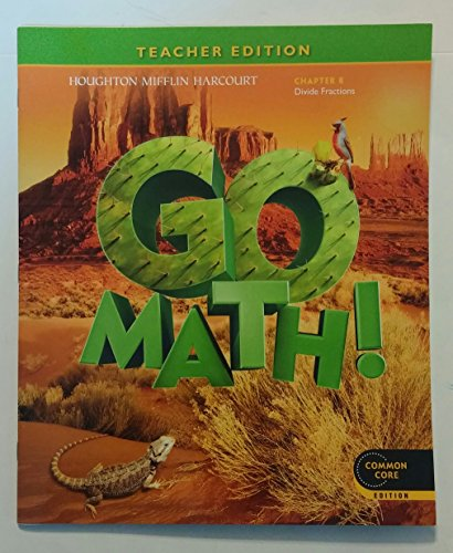Go Math! Grade 5 Teacher Edition Chapter 8: Divide Fractions (Common Core Edition)
