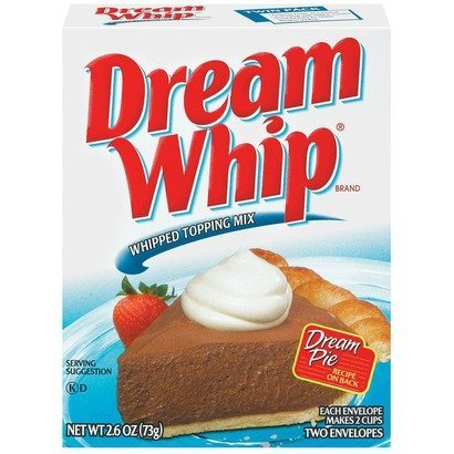 Dream Whip, Dessert Topping, 2.6-Ounce Box (Pack of 4)
